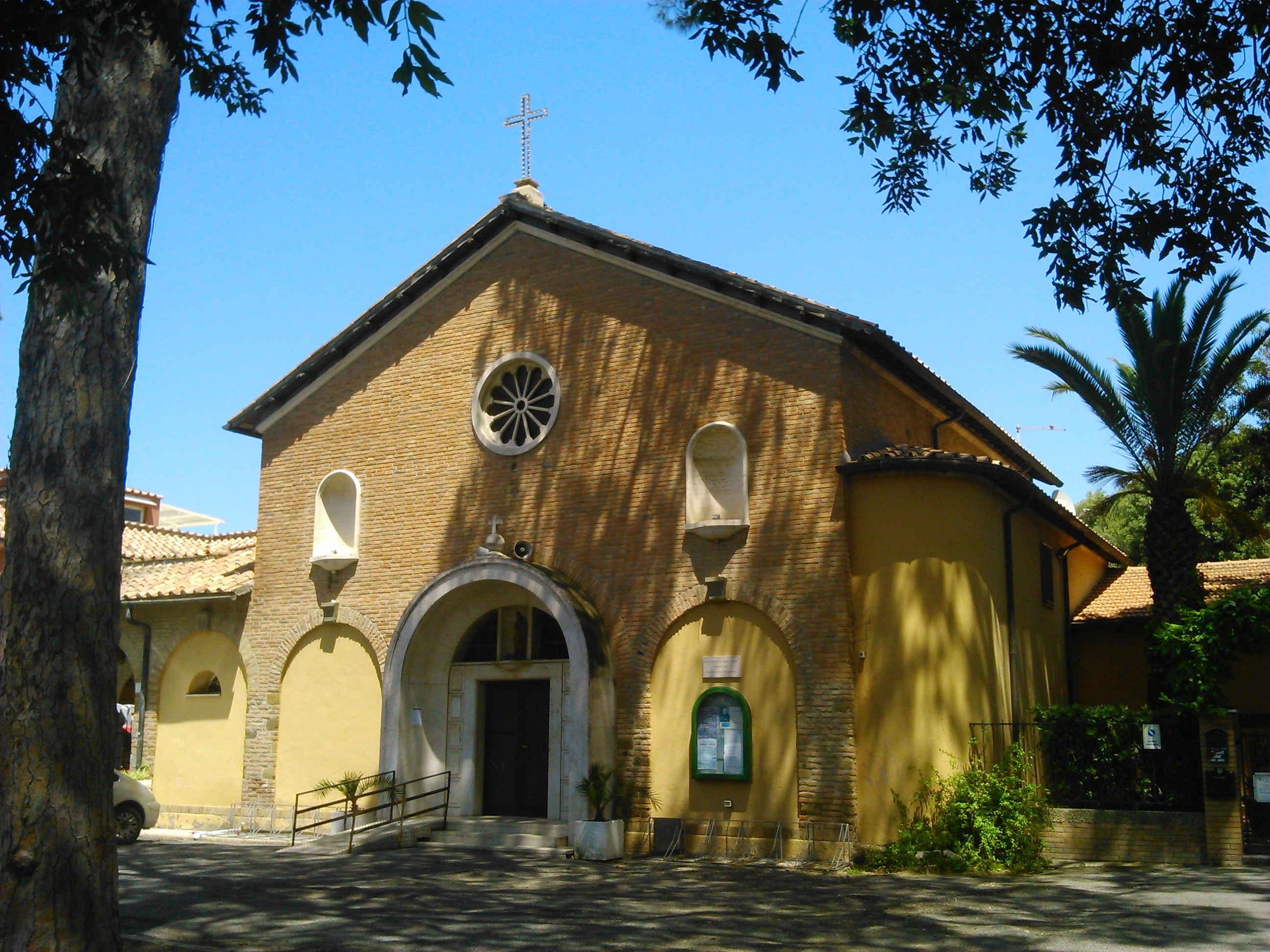 La Chiesa Parrocchiale di Fregene
