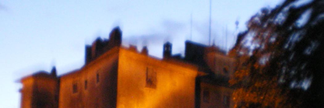 Il Castello di San Giorgio a Maccarese la notte…
